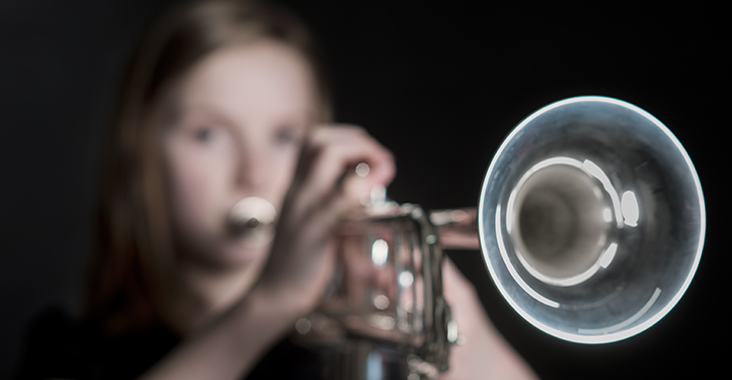 Hattie the trumpeter